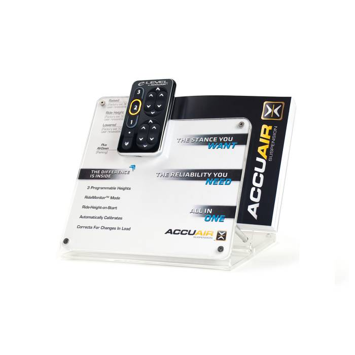 AccuAir // Acrylic TouchPad Display and Catalog Holder